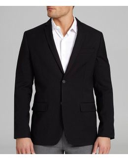 Slim-fit Solid Jacket