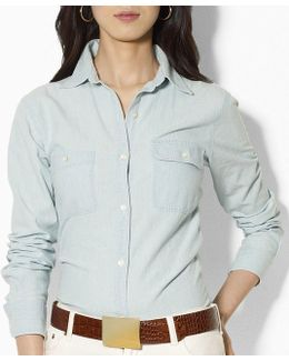 Lauren Jeans Co. Chambray Shirt