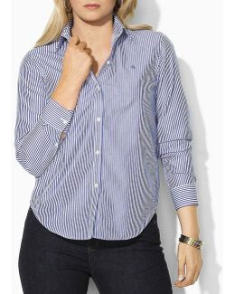 Plus Wrinkle-free Slim Dress Shirt