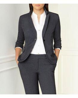 Notch-collar Jacket