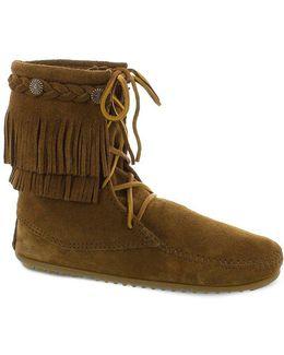 5-layer Fringe Boots
