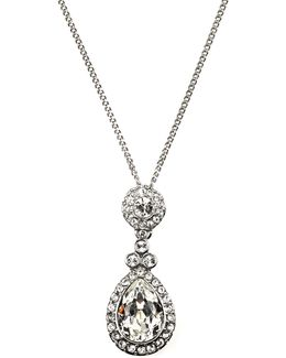 Wingate Crystal Pendant Necklace