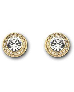 Angelic Pierced Stud Earrings