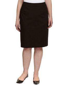 Plus Pencil Skirt