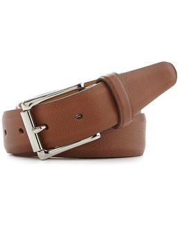Milled Edge Leather Belt