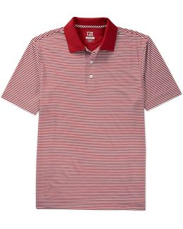 Golf Drytec Trevor Horizontal Stripe Polo Shirt