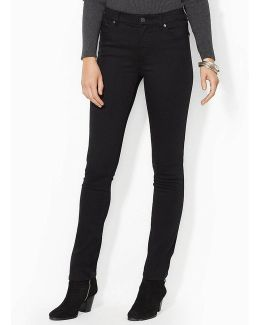 Lauren Jeans Co. Super-stretch Slimming Heritage Straight Jeans