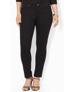 Plus Super-stretch Slimming Modern Skinny Jeans