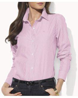 Wrinkle-free Striped Dress Shirt