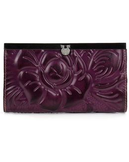 Rose Tooled Cauchy Wallet