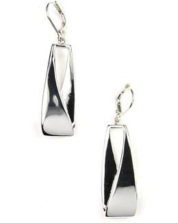 Linear Leverback Earrings
