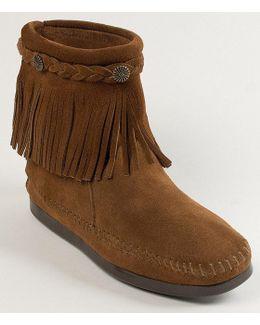 Concho Fringe Boots