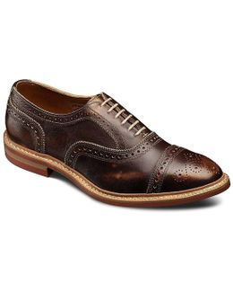 Strandmok Cap-toe Balmoral Dress Oxfords