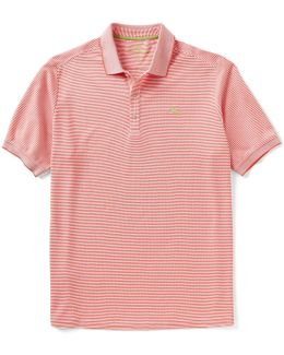 Emfielder Horizontal Stripe Polo Shirt