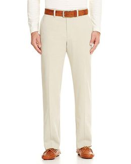 New St. Thomas Standard-fit Flat-front Pants