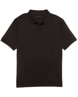 Big & Tall Open Polo Shirt