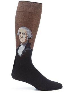 George Washington Crew Socks