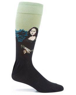Mona Lisa Crew Socks