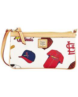 St. Louis Cardinals Canvas Large Slim Wristlet