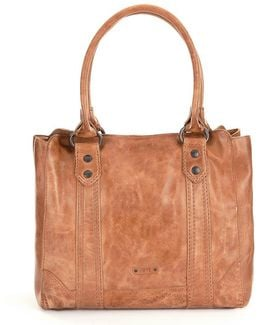Melissa Washed Leather Tote