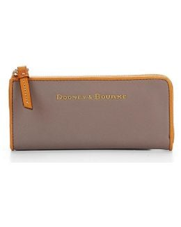 City Collection Zip Clutch