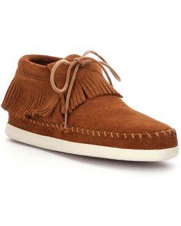 Venice Fringe Sneaker Boots