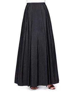 Long Taffeta Full Skirt