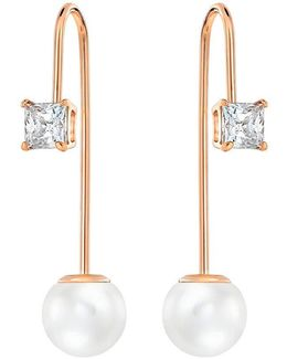 Attract Pearl Front/back Earrings