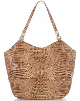 Melbourne Collection Thelma Croco-embossed Tote
