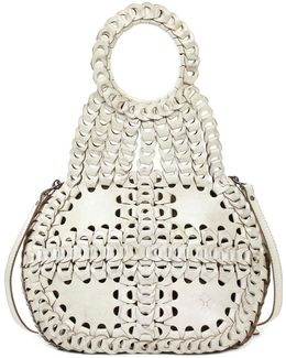 Leather Chain Link Collection Pisticci Shoulder Bag