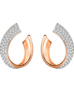 Exist Pavé Wrap Hoop Earrings