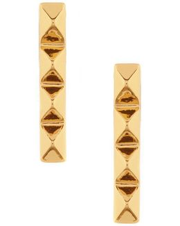 Pyramid Linear Earrings