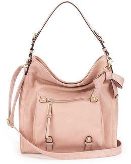 Tatiana Faux Leather Hobo Bag