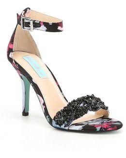 Blue By Gina Dress Sandals