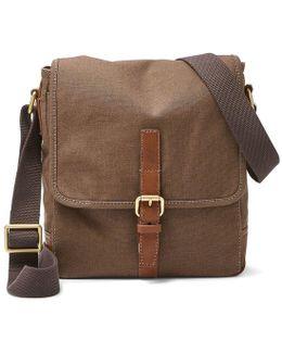 Davis Canvas Small Tablet Messenger Bag