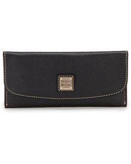 Pebble Collection Slim Continental Clutch