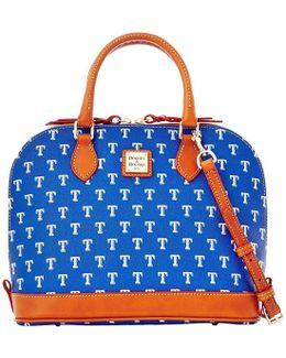 Mlb Collection Texas Rangers Zip Zip Satchel