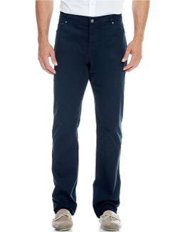 5-pocket Stretch Twill Pants