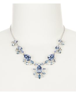 Blue Frontal Necklace