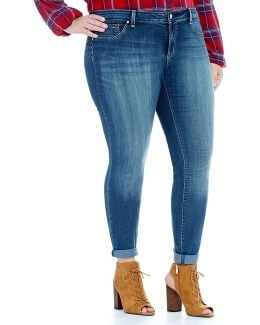"Plus ""kiss Me"" Super Skinny Jean"
