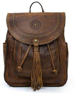 Distressed Vintage Collection Tasseled Jovanna Backpack