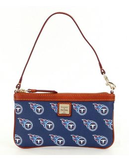 Nfl Collection Tennessee Titans Large Slim Wristlet