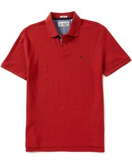 Daddy-o Short-sleeve Solid Polo Shirt