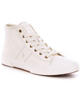 Men ́s Tremayne High-top Leather Lace-up Sneakers