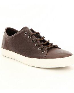 Men ́s Brett Low Leather Sneakers