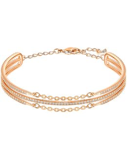 Fine Pavé Stacked Bangle Bracelet