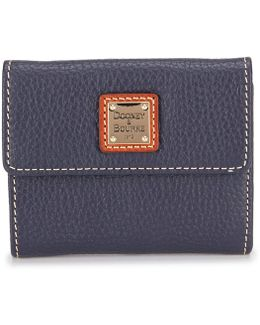 Pebble Collection Small Credit Card Wallet