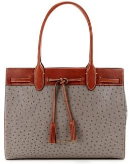 Ostrich Collection Ariel Tote