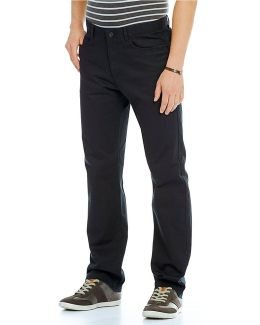 Cavalry Straight-fit Flat-front Twill Pants