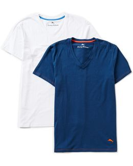 2-pack V-neck Tees